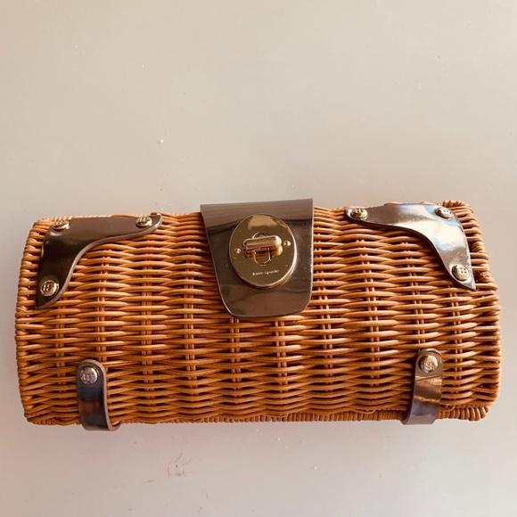 kate spade Handbags - VGUC ♠️ Kate Spade Wicker Clutch